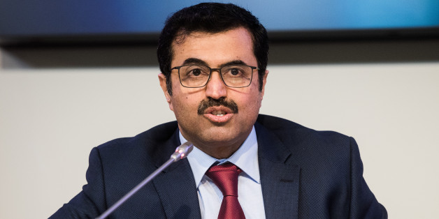 Mohammed Al-Sada, Qatar's minister of energy and industry and president of OPEC, speaks during a news conference following the 171st Organization of Petroleum Exporting Countries (OPEC) meeting in Vienna, Austria, on Wednesday, Nov. 30, 2016. Oil rose the most in nine months after OPEC ministers were said to have forged a deal to cut production, sending stocks of energy producers and currencies of commodity-exporting nations higher. Photographer: Akos Stiller/Bloomberg via Getty Images