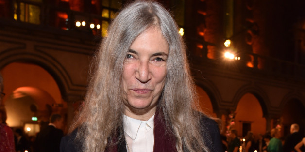 STOCKHOLM, SWEDEN - DECEMBER 10:  Patti Smith attend the Nobel Prize Banquet 2015 at City Hall on December 10, 2016 in Stockholm, Sweden.  (Photo by Pascal Le Segretain/Getty Images)