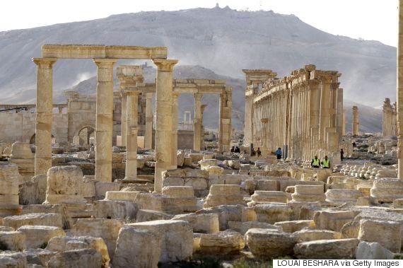 islamic state palmyra