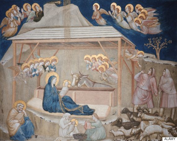 jesus fresco