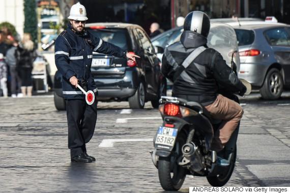 italy rome air pollution