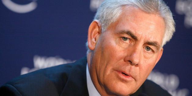 Exxon-Geschäftsführer Rex Tillerson ist neuer Außenminister der USA