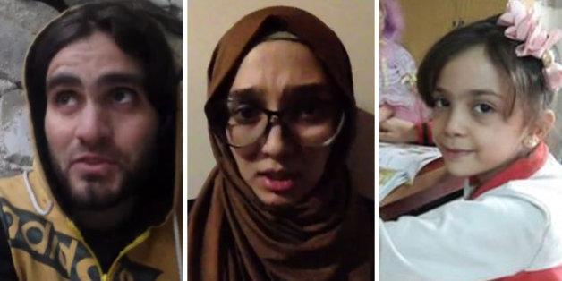 Les trois types de messages d'Alep qui montrent que des civils sont exécutés