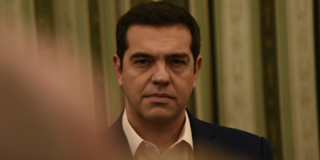 PRESIDENTIAL MANSION, ATHENS, ATTIKI, GREECE - 2016/11/05: Greek Prime Minister Alexis Tsipras ,during the ceremony of the reformation of Greek Government. (Photo by Dimitrios Karvountzis/Pacific Press/LightRocket via Getty Images)