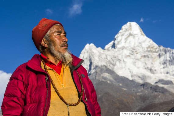 himalaya monk