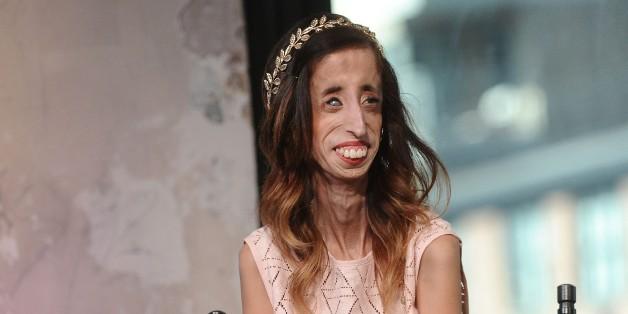 NEW YORK, NY - SEPTEMBER 24:  Lizzie Velasquez attends AOL Build to discuss 'A Brave Heart:: The Lizzie Velasquez Story'  at AOL Studios on September 24, 2015 in New York City.  (Photo by Daniel Zuchnik/WireImage)