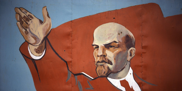 Mural of Vladimir Lenin (Photo by © Shepard Sherbell/CORBIS SABA/Corbis via Getty Images)