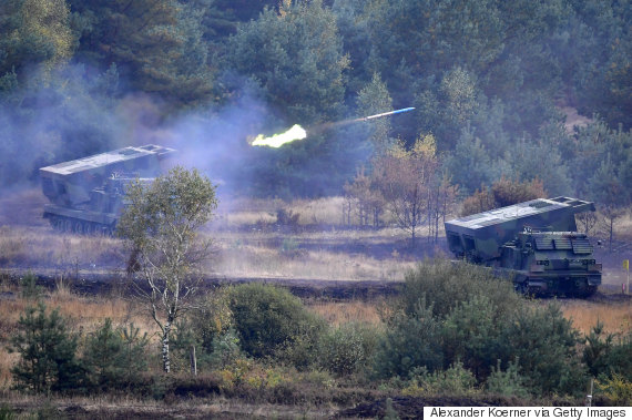 russian tanks exercise