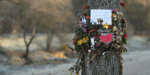 FREIBURG IM BREISGAU, GERMANY - DECEMBER 08:  Flowers and messages left by mourners adorn a tree near the spot where Maria L., a 19-year-old medical student, was raped and murdered on December 8, 2016 in Freiburg im Breisgau, Germany. Police have arrested Hussein K., a refugee from Afghanistan who was 16 at the time of the October murder, after identifying him through CCTV camera images and DNA evidence. The likely fact that a refugee is responsible for the murder has grown into a political issue, with a local branch of the right-wing AfD (Alternative fuer Deutschland) political party quick to point a finger at what they deem as Germany's over-liberal policy on admitting over one million refugees and migrants since 2015. Meanwhile critics have blasted German television station ARD for failing to report on the arrest in its Tagesschau news broadcast in what many right-leaning analysts see as pro-refugee bias by the media.  (Photo by Sean Gallup/Getty Images)