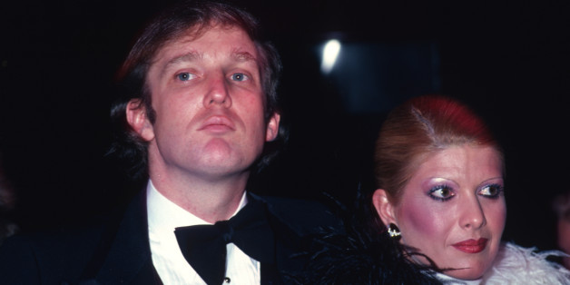 NEW YORK, NY - 1980: Donald Trump and  Ivana Trump attend Roy Cohn's birthday party in February 1980 in New York City.  (Photo by Sonia Moskowitz/Getty Images)