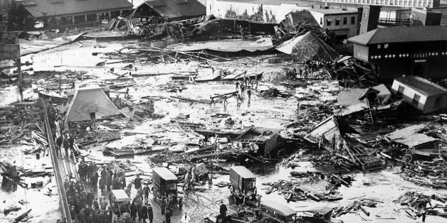 Im Hafenviertel Bostons war 1919 ein riesiger Melassetank geplatzt.