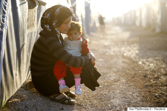 syria mother child