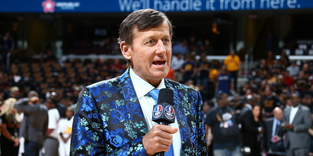CLEVELAND, OH - JUNE 16:  Craig Sager attends the game between the Golden State Warriors and the Cleveland Cavaliers during Game Six of the 2016 NBA Finals on June 16, 2016 at Quicken Loans Arena in Cleveland, Ohio. NOTE TO USER: User expressly acknowledges and agrees that, by downloading and/or using this Photograph, user is consenting to the terms and conditions of the Getty Images License Agreement. Mandatory Copyright Notice: Copyright 2016 NBAE (Photo by Nathaniel S. Butler/NBAE via Getty I