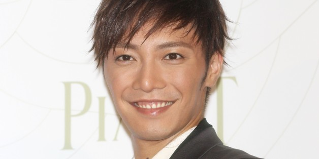 TOKYO, JAPAN - APRIL 19:  Actor Hiroki Narimiya attends the Piaget Rose Press conference on April 19, 2012 in Tokyo, Japan. (Photo by Sports Nippon/Getty Images)