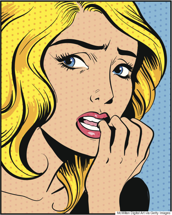 anxious illustration