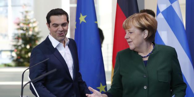 German Chancellor Angela Merkel and