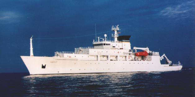 Το αμερικανικό ωκεανογραφικό σκάφος USNS Bowditch