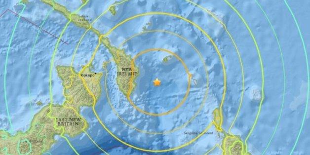 Schweres Erdbeben vor Papua-Neuguinea - Forscher warnen vor Tsunami