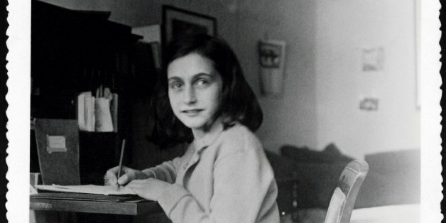- HANDOUT PHOTO - A hand out picture received on December 17, 2004 shows Anne Frank at her desk in her house at the Merwedeplein in Amsterdam. The Amsterdam apartment where Anne Frank began her diary before going into hiding from the Nazis will become a writers' residence, 60 years after she died in a concentration camp. Frank started her diary in the apartment at Merwedeplein in southern Amsterdam in June 1942, weeks before disappearing into the secret annex of a canal-side warehouse in the cit