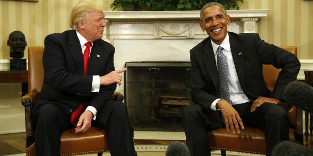 Kollege verrät: Immer wenn er Gäste im Weißen Haus begrüßt, macht Barack Obama denselben Witz