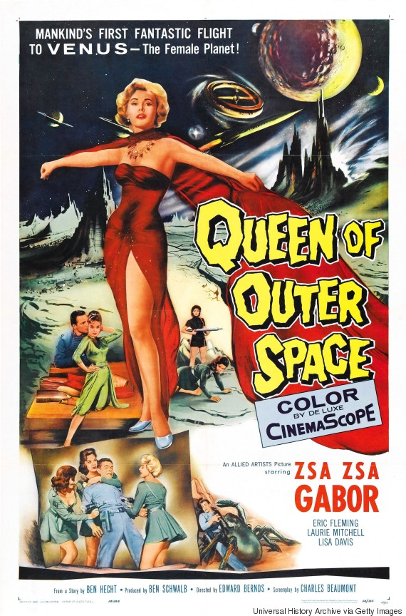 zsa zsa gabor queen of outer space