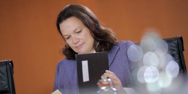Arbeitsministerin Andrea Nahles' Äußerungen über Reiche sorgte für heftige Kritik