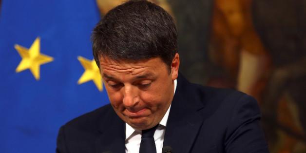 """Ehemaliger Ministerpräsident Matteo Renzi scheiterte an einer Verfassungsänderung. Italiens Bürger stimmten mit """"Nein"""""""