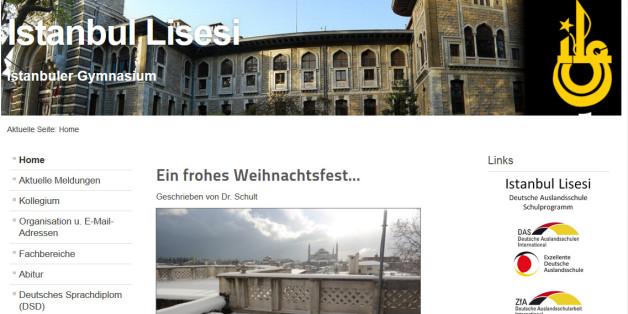 Die Elite-Schule Istanbul Lisesi steht derzeit in der Kritik aus Deutschland, weil sie angeblich Lehrern verboten hat, über Weihnachten zu berichten,