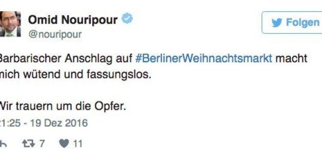 """""""Eine barbarischer Anschlag"""": So reagieren deutsche Politiker auf die mutmaßliche Attacke in Berlin"""