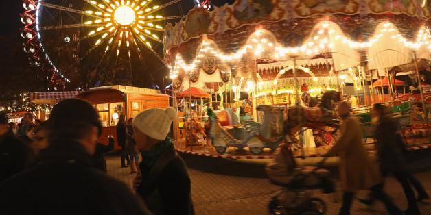 Der Weihnachtsmarkt am Berliner Alexanderplatz