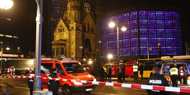 Der Tatort an der Berliner Gedächtniskirche