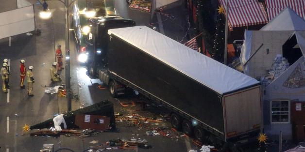 """""""Zivilcourage, die Mut macht"""": Mutiger Zeuge hilft den Berliner Lkw-Fahrer zu fassen"""