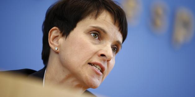 AfD-Chefin Frauke Petry schürt Angst