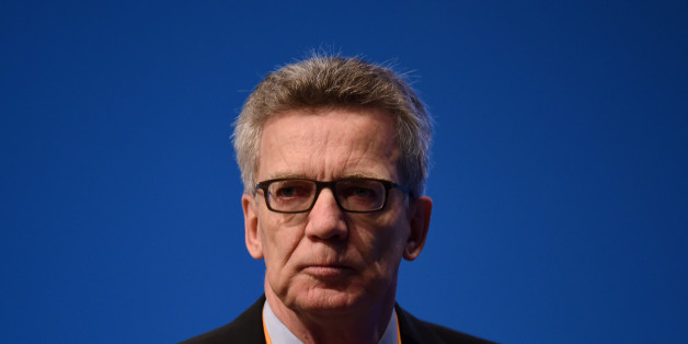 ESSEN, GERMANY - DECEMBER 7: The German Minister of the Interior, Thomas de Maiziere loks to the Delegates during the 29th annual congress of the Christian Democrats (CDU) on December 7, 2016 in Essen, Germany. Over 1,000 CDU delegates are meeting to debate and vote on the party's course for next year following the recent announcement by German Chancellor Angela Merkel that she will run for a fourth term as chancellor in federal elections scheduled for next September.  (Photo by Volker Hartmann/Getty Images)