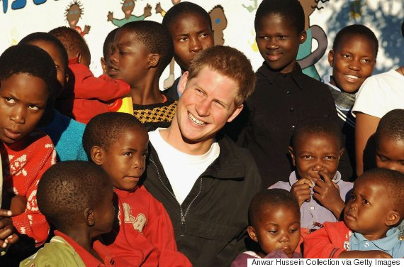 prince harry africa