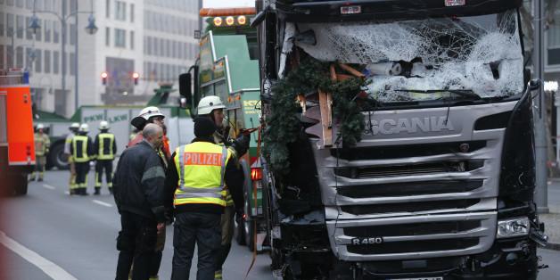 Der Attentäter von Berlin raste mit einem gestohlenen Lkw in den Weihnachtsmarkt