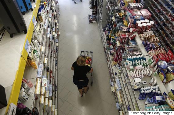 greece supermarket