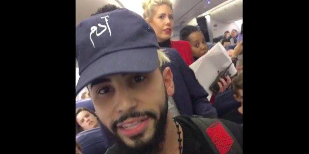 Youtube-Star Adam Saleh wird aus Flieger geschmissen - weil er Arabisch gesprochen hat