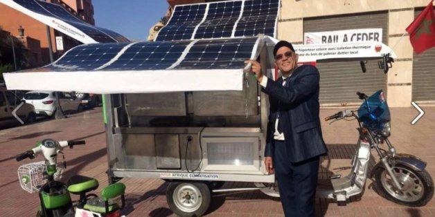 """Un """"frigo"""" mobile solaire créé au Maroc"""