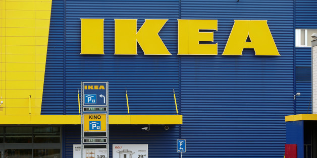 The company's logo is seen outside of an IKEA Group store in Dietlikon, Switzerland October 11, 2016.  REUTERS/Arnd Wiegmann