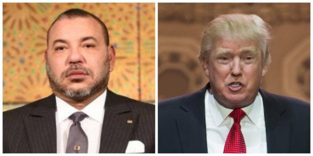 """Le roi devrait rencontrer Donald Trump ce dimanche selon """"Jeune Afrique"""""""