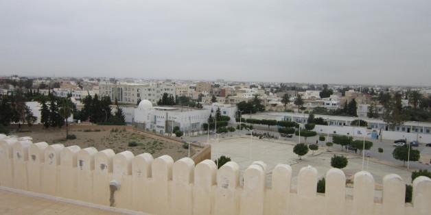 Ein Blick über die Heimatstadt von Anis Amri: Kairouan