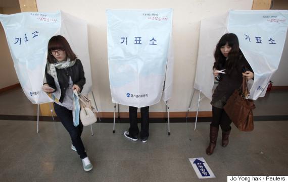 korea president vote