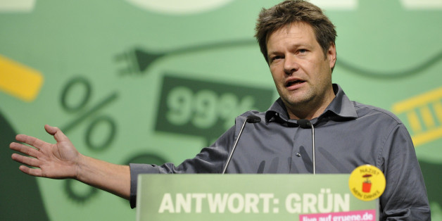 Der Grünen-Politiker Robert Habeck wirbt um enttäuschte CDU-Anhänger.