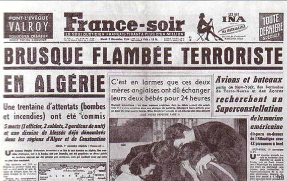 algeria november 1954