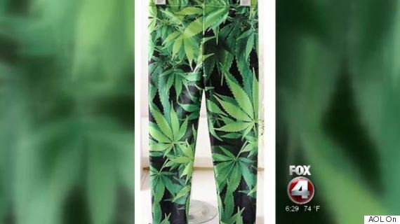 marijuana leggings