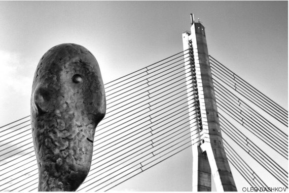 he and the bridge