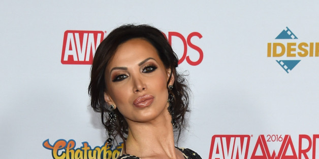 LAS VEGAS, NV - JANUARY 23:  Adult film actress Nikki Benz attends the 2016 Adult Video News Awards at the Hard Rock Hotel & Casino on January 23, 2016 in Las Vegas, Nevada.  (Photo by Ethan Miller/Getty Images)