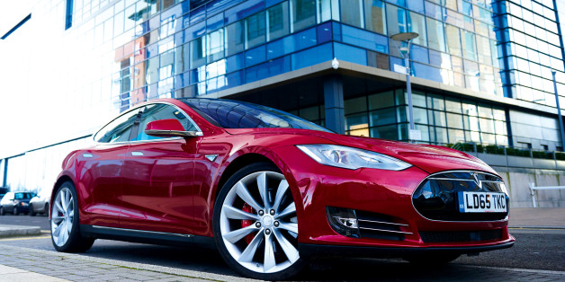 A Tesla Model S P85D electric car, taken on December 8, 2015. (Photo by Joby Sessions/T3 Magazine via Getty Images)