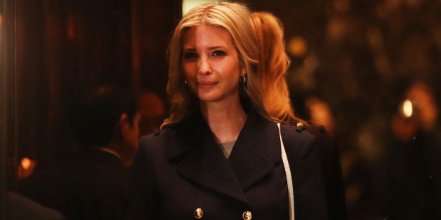 Ein Mann soll Ivanka Trump auf einem Flug belästigt haben
